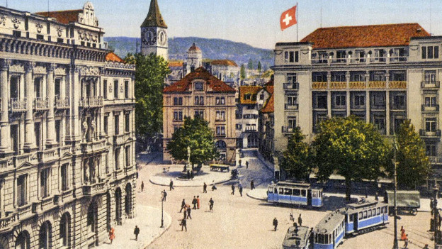 Zürich um 1910.