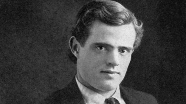 Der Autor Jack London 1903.
