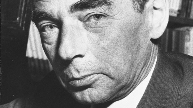 Erich Kästner im Porträt.