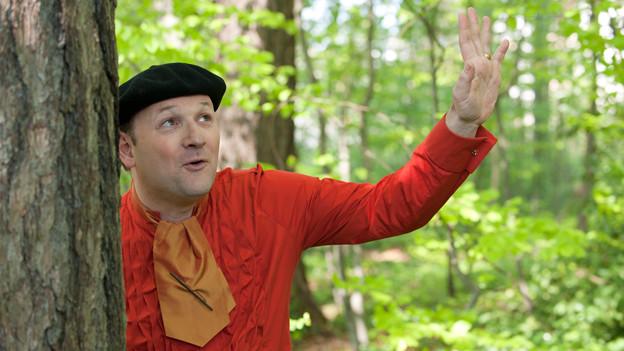 Andri Krämer produziert Kindergeschichten. Mit Erfolg.