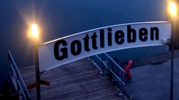 Schiffsteg von Gottlieben.