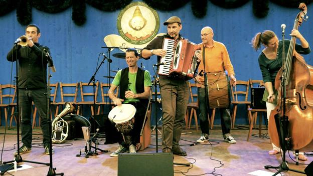Porträt Band.