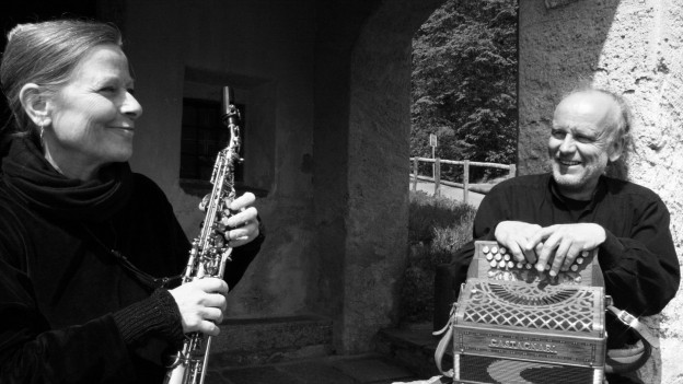 Mauro Garbani und Esther Rietschin bilden das Musikduo Vent Negru.