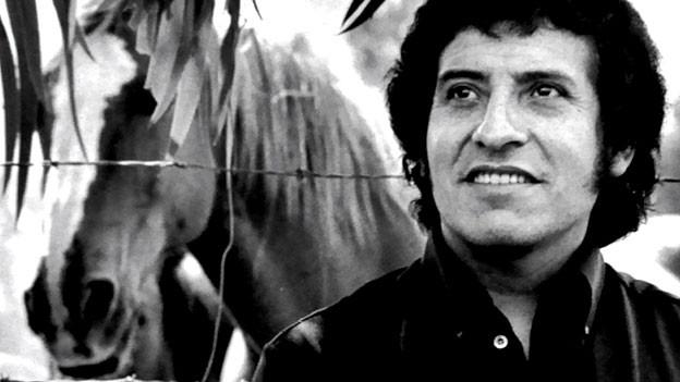 Víctor Jara, Liedermacher der Unidad Popular.