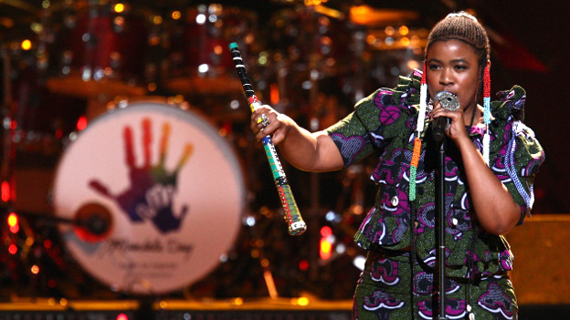 Die Sängerin Thandiswa Mazwai.