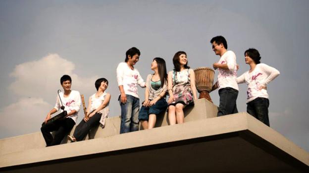 Der Ensemble Korean Music Project.