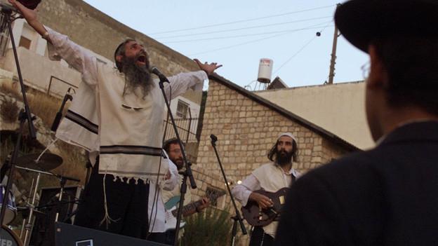 Klezmermusiker in Israel