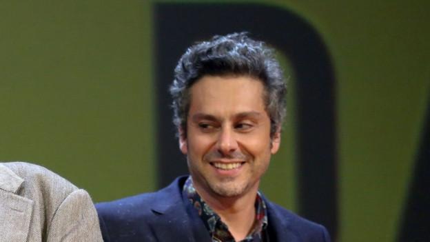 Guinga beim Verleih des brasilianischen Musikpreises.