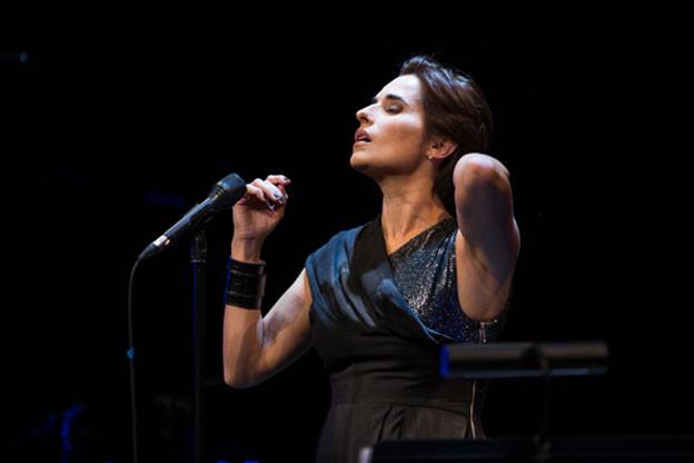 Sängerin Cristina Branco.
