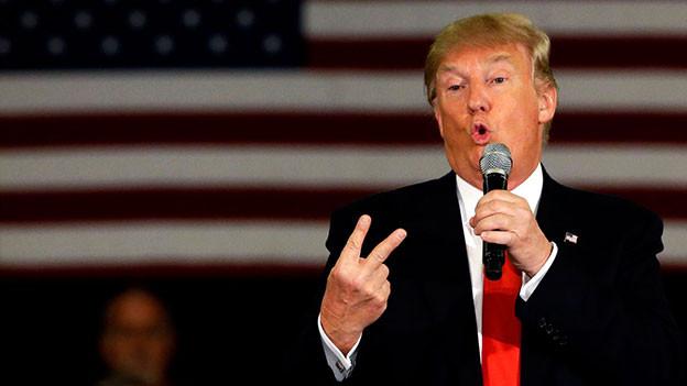 Donald Trump, ein Phänomen, das auch Musiker beschäftigt.