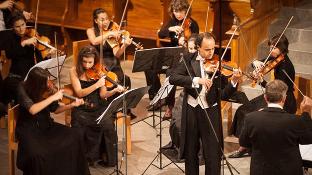Das Festivalorchester «Les Orpheistes»