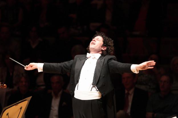 Der venezolanische Dirigent Gustavo Dudamel.