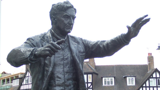 Statue Ralph Vaughan Williams
