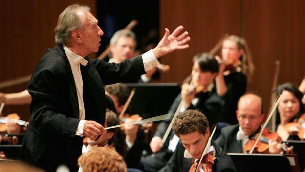 Dirigent Claudio Abbado ist seit Jahren dem Lucerne Festival treu.
