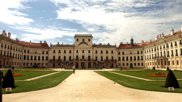 Das Schloss Esterházy nahe der ungarischen Stadt Fert?d.