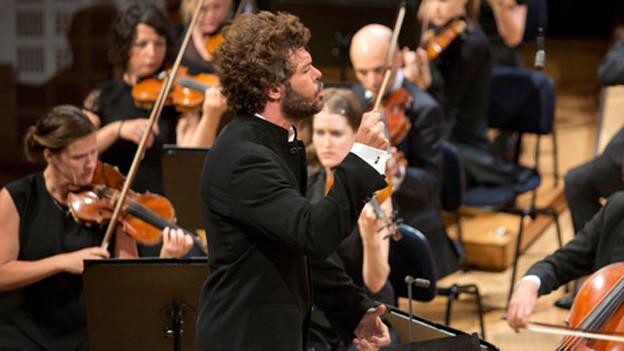Der spanische Dirigent Pablo Heras-Casado.