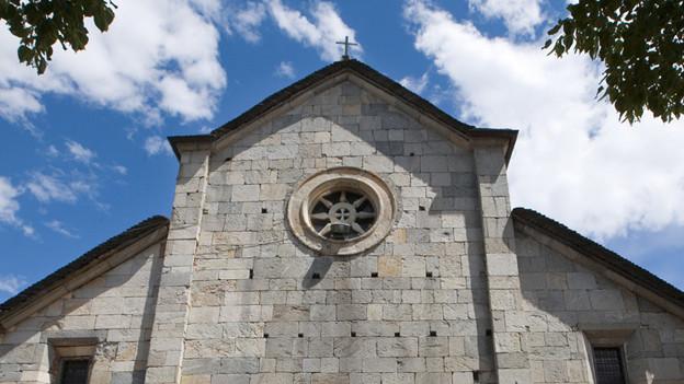 Die Kirche San Francesco in Locarno.