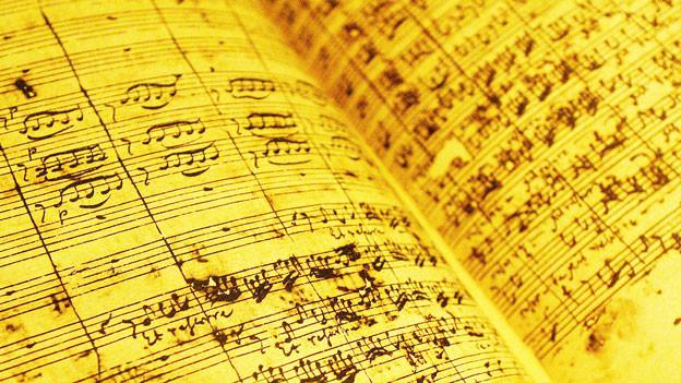 Faksimilie von J.S.Bach