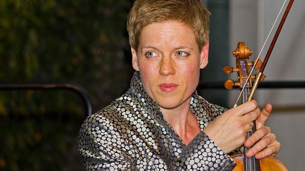 Isabelle Faust beim Kammermusik-Gipfel