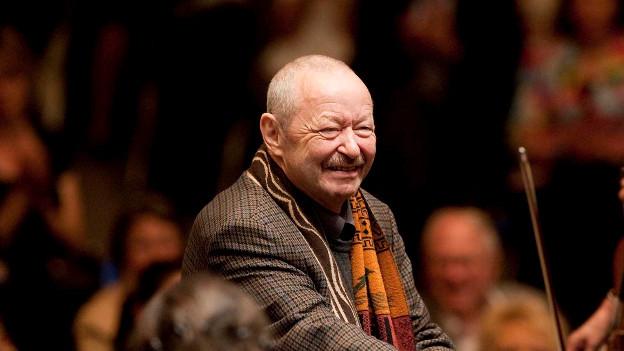 Der Solothurner Dirigent und Komponist Jost Meier (hier 2009) kann am 15. März seinen 75. Geburtstag feiern.