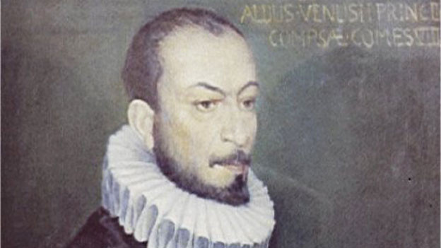 Carlo Gesualdo im Porträt.