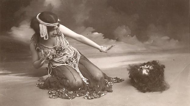 Maude Allan als Salome (um 1910).