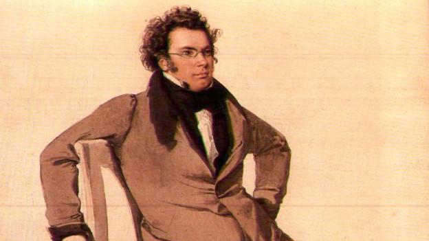 Franz Schubert, gemalt von Wilhelm August Rieder.