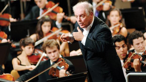 Daniel Barenboim, Leiter des West-Eastern Divan-Orchestra.
