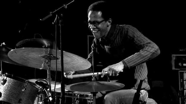 Der Schlagzeuger Brian Blade.