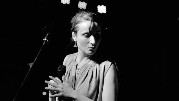 Die Sängerin Sarah Büchi.