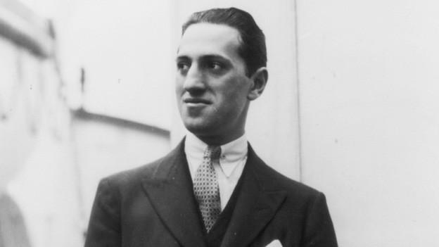 George Gershwin im Porträt.