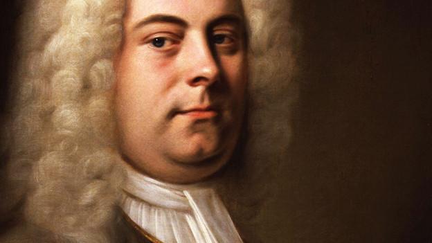Portrait von Händel.