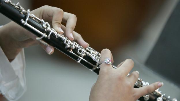 Eine Klarinette