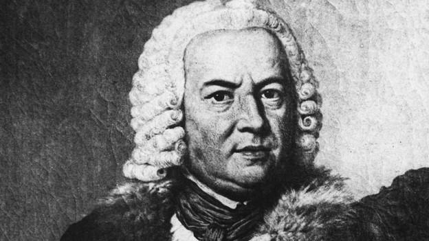 Zeitgenössische Darstellung von Johann Sebastian Bach