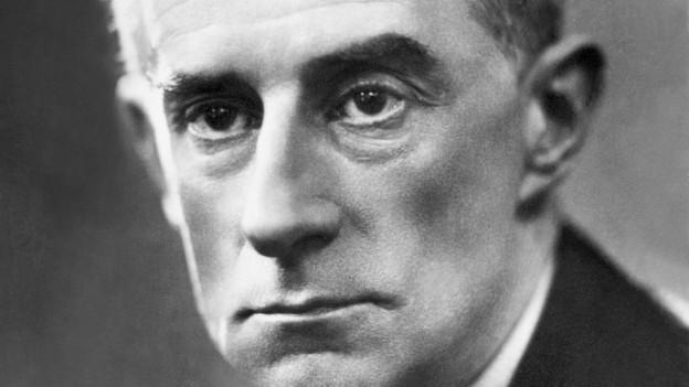 Undatierte Aufnahme von Maurice Ravel.