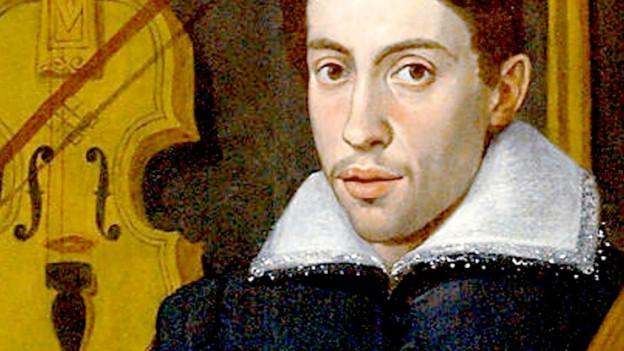 Ein Gemälde von Claudio Monteverdi.