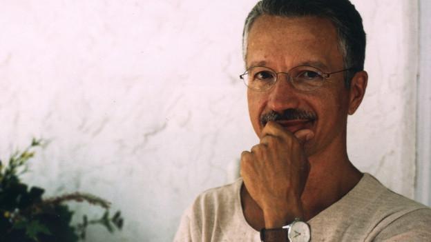 Porträt von Keith Jarrett.
