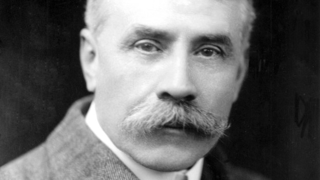 Porträt Edward Elgar.