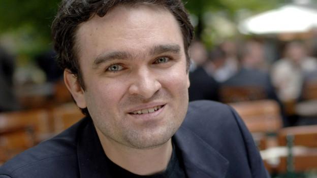 Porträt Jörg Widmann.