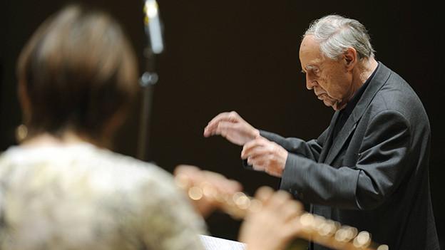Pierre Boulez, 2010.