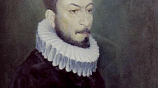 Ein Gemälde von Gesualdo.