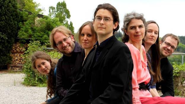 Gruppenbild von Le Miroir de Musique.