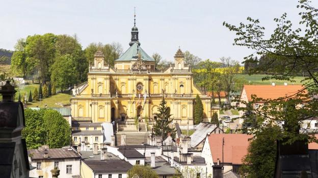 Barocke Basilika in Polen.