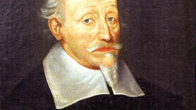 Porträt des Komponisten Heinrich Schütz
