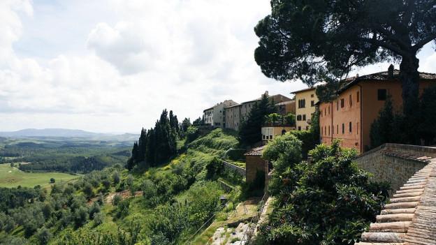 Symbolbild: Landschaftsaufnahme aus der Toskana.