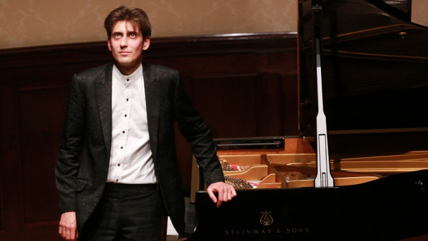 Yevgeny Sudbin bei einem Konzert in der Wigmore Hall in London