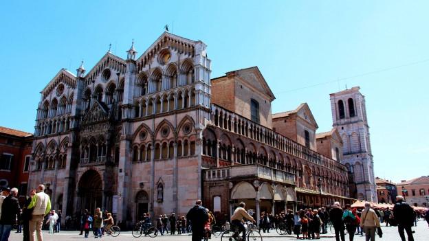 Die Kathedrale in Ferrara