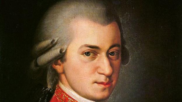 Mozart gemalt von Barbara Krafft