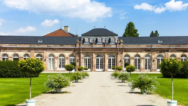 Nördlicher Zirkelbau des Schloss Schwetzingen