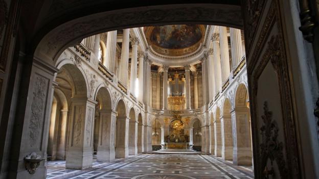 Foto der Schlosskapelle in Versailles